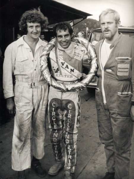 Gordon Stobbs, Ivan Mauger and Wilfried Drygala